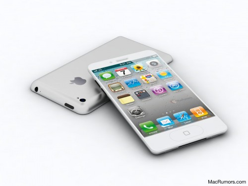 iPhone 5 Mockup by MacRumors
